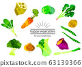 Organic vegetable set② 63139366