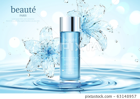 Moisturizing cosmetic ads 63148957