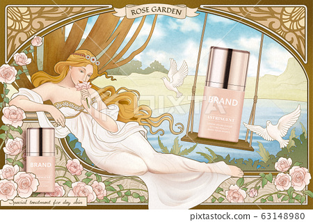 Skincare product ads 63148980