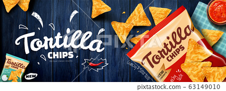 Tortilla chips ads 63149010