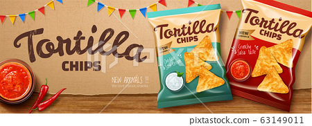 Tortilla chips ads 63149011