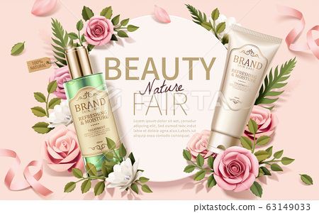 Romantic skincare ads 63149033