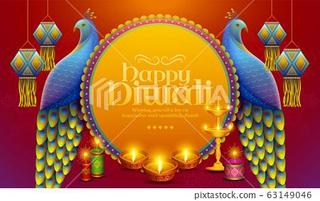 Happy Diwali design 63149046