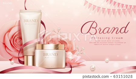 Romantic cosmetic products ads 63151028
