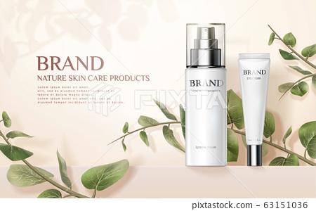 Nature skincare product ads 63151036