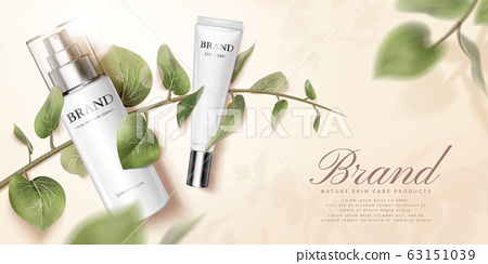 Nature skincare product ads 63151039