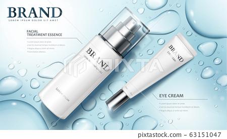 Moisture skincare product ads 63151047