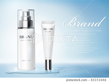 Moisture skincare product ads 63151048