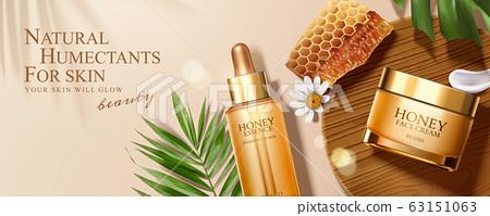 Honey skincare banner ads 63151063