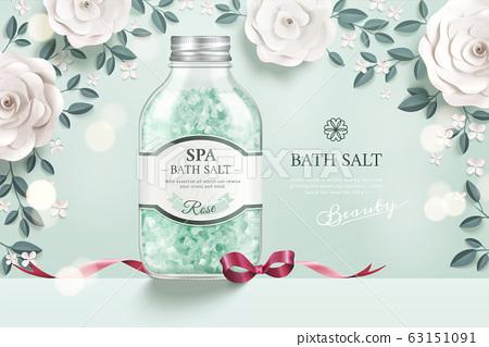 Elegant bath salt ads 63151091