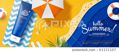 Ocean friendly sunscreen ads 63151107