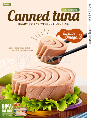 Canned tuna poster ads 63151129
