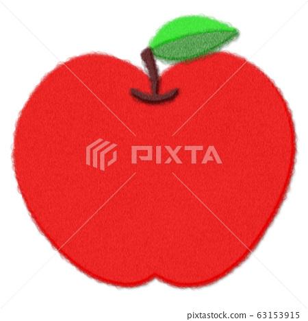 感覺風格插圖素材蘋果 63153915