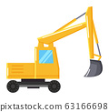 Excavator or Digger Mining Industrial Machinery 63166698