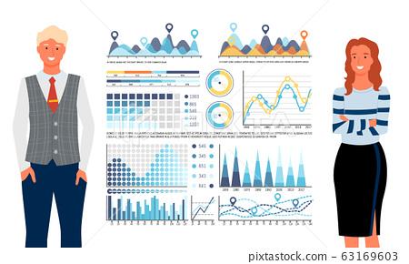 Statistics Graphs and Charts. People Analytics 63169603