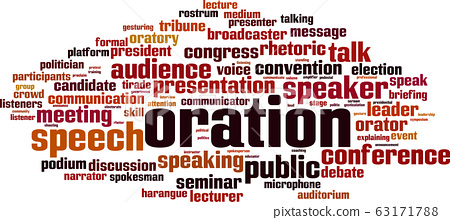 Oration word cloud 63171788