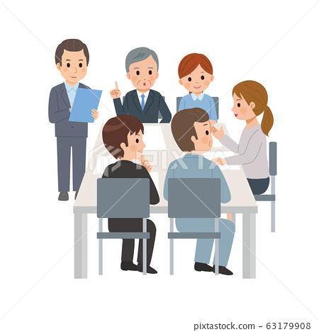 培訓人討論討論圖 63179908