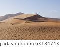 나미비아의 사막 63184743