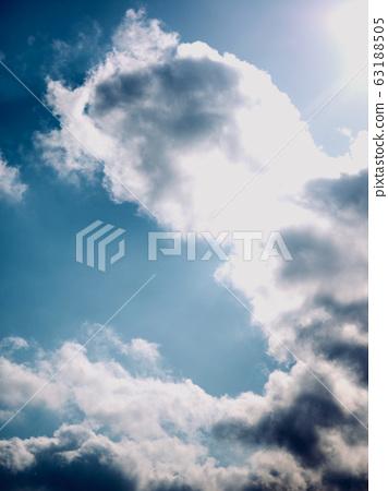 먹구름과 하늘 풍경 63188505