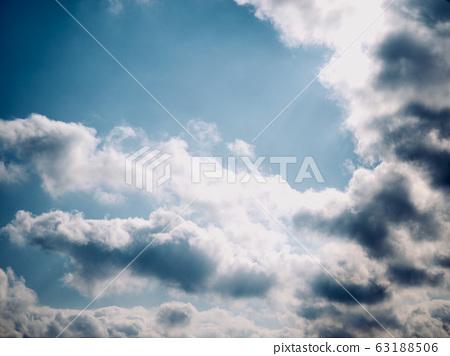 먹구름과 하늘 풍경 63188506