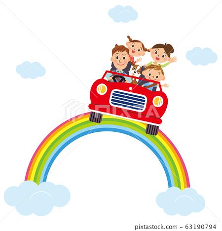 沿著彩虹開車,結交朋友 63190794