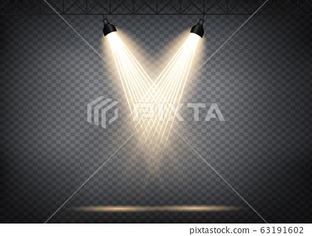 Light effect spotlight  63191602