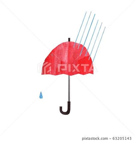 雨傘貼圖片風格 63205143