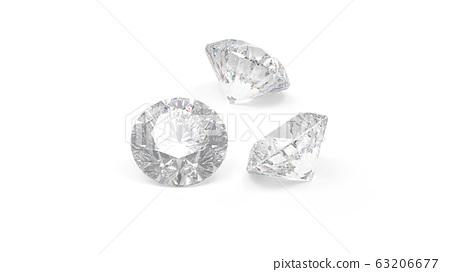다이아몬드 배경 백계 CG 63206677