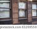 復古木製門面和窗戶 63209550