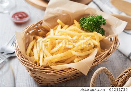 炸薯條 63211736