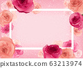 Greeting Card with Roses 63213974