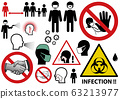 Infectious Threat Icons and Symbols 63213977