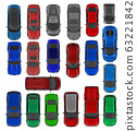 20 Cars top view renders 63221842