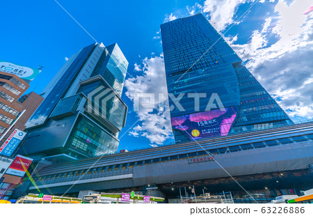 日本澀谷站重建,東京地鐵銀座線澀谷站等的東京城市景觀= 3月11日(東日本大地震發生9年後) 63226886