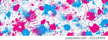 Splash pattern seamless 63226956
