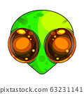 Alien Vector Illustration Suitable For Greeting 63231141