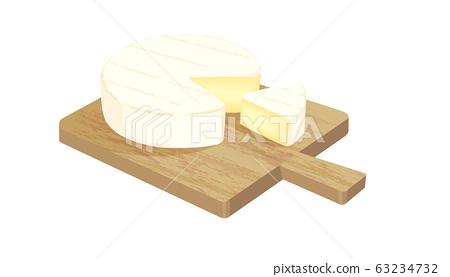 卡門培爾奶酪 63234732