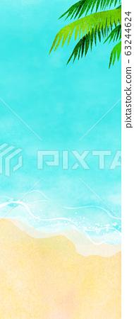 여름 바다 해변 배경 소재 63244624