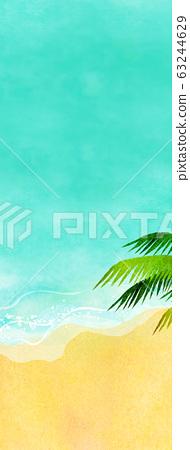 여름 바다 해변 배경 소재 63244629