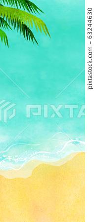 여름 바다 해변 배경 소재 63244630