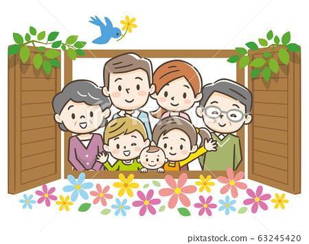 가족 삼대 창 63245420