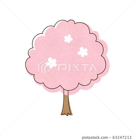 Cherry tree 63247213