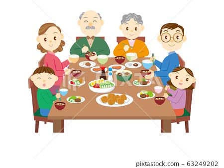 家庭聚餐 63249202