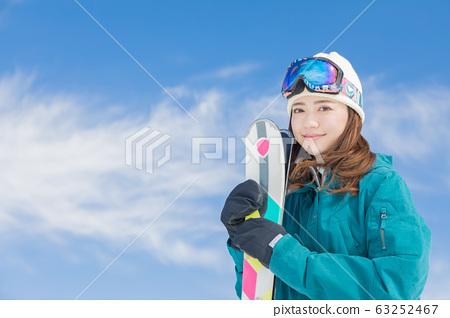 스키 63252467