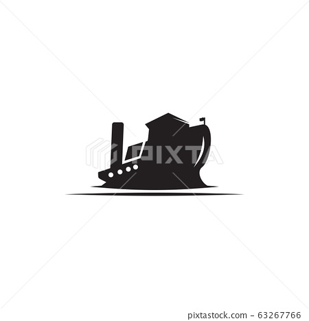 oil tanker ship logo design vector template 63267766