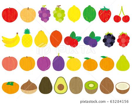 手繪可愛水果套 63284156