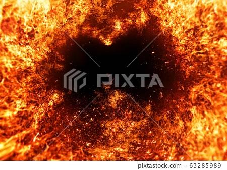 抽象火焰背景 63285989