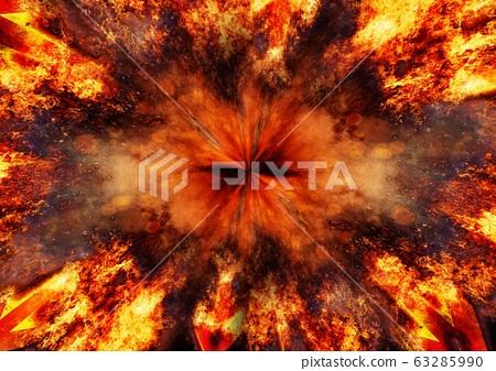 추상적 인 불꽃의 배경 63285990