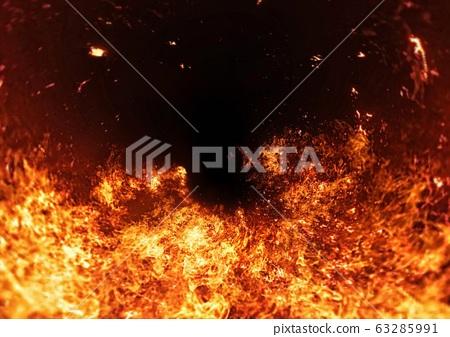 추상적 인 불꽃의 배경 63285991