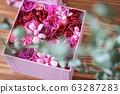 粉色花盒 63287283